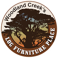 North Woods Log TV Stand